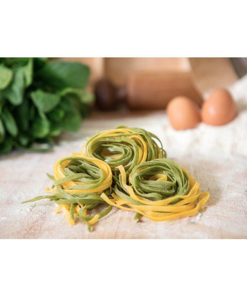 Italian Tagliatelle Straw and Hay style