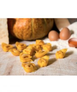 Italian stuffed Pasta with Pumpkin