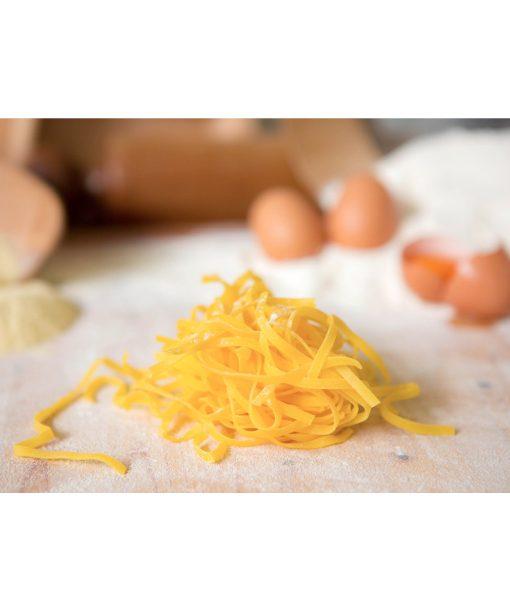 Thin Italian Tagliatelle Italian extruded egg pasta