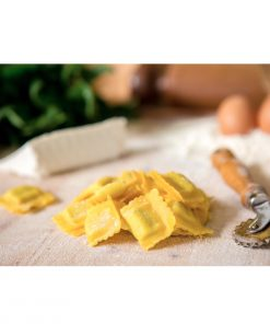 italian spinach and ricotta ravioli