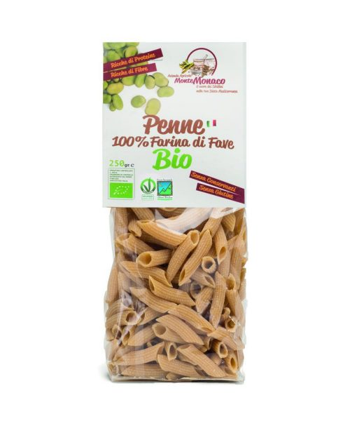 Broad Beans Flour Organic Pasta