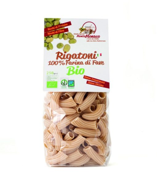Broad Beans Flour Organic Italian Pasta