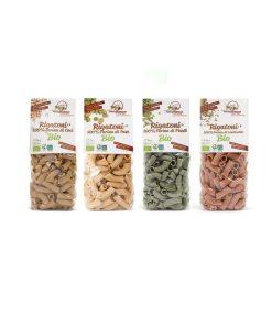 Organic Rigatoni Pasta - Legume mix