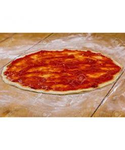 Tomato sauce pizza bases