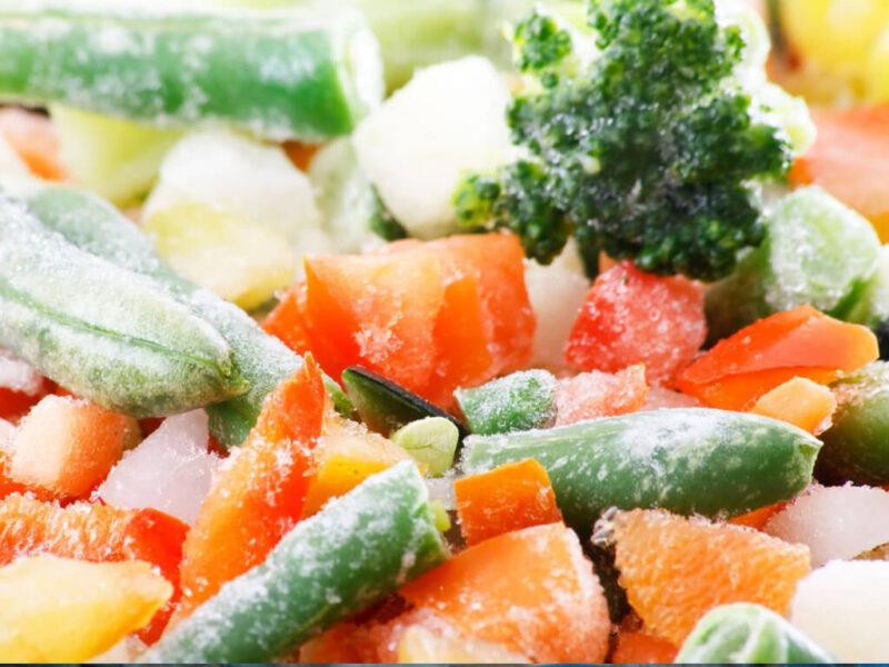 Zuppe di verdura surgelate